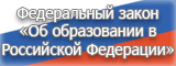 Федеральный закон «Об образовании в Российской Федерации»